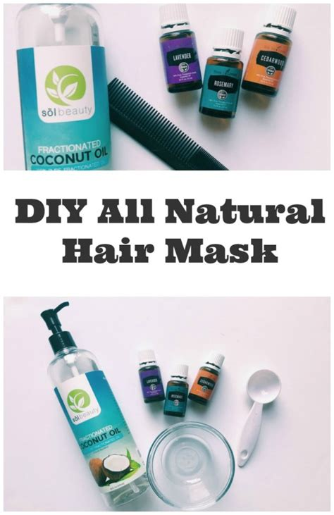 diy hydrating mask using essential oils family focus coconut hair mask recipe all hair strengthening and conditioning