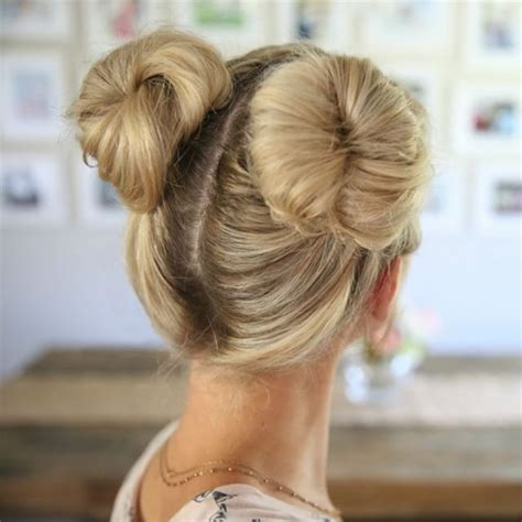 hairstyles space buns here are 3 different options on how to do double buns