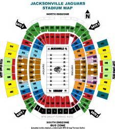Jaguar Stadium Seating Chart Everbank Field