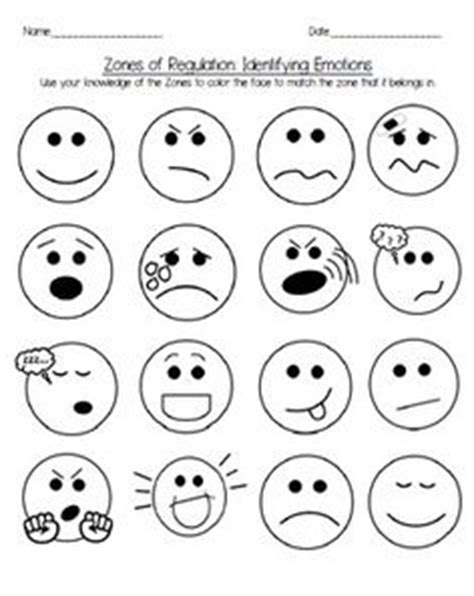 zones of regulation printable faces 1000 images about zones of regulation on pinterest