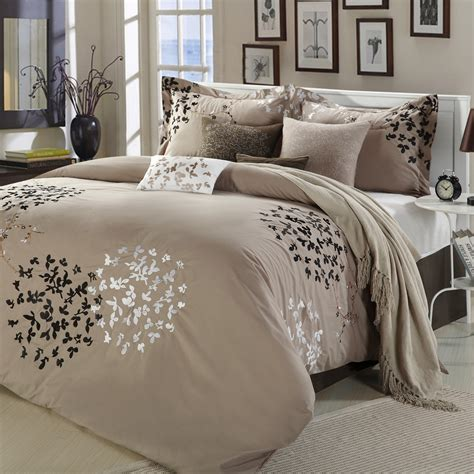 wayfair com bedding chic home cheila 8 piece comforter set reviews wayfair