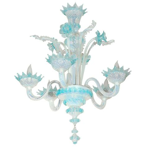 Blue Glass Chandelier X Jpg