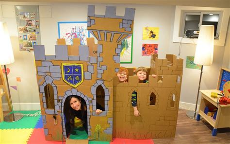 How To Make A Paper Castle - build a cardboard castle fort