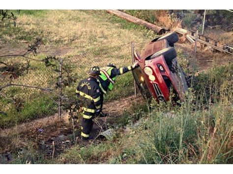 how to say a seat in vallejo firefighters say a seat belt probably saved