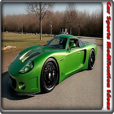 Cars Modification App by Car Sports Modification Ideas Appstore For