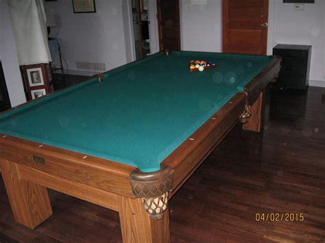 Regulation Size Pool Table Outside Cowichan Valley Cowichan