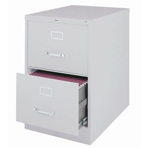Grey Filing Cabinet Features