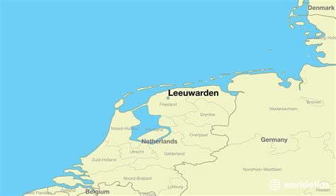 netherlands friesland map where is leeuwarden the netherlands where is