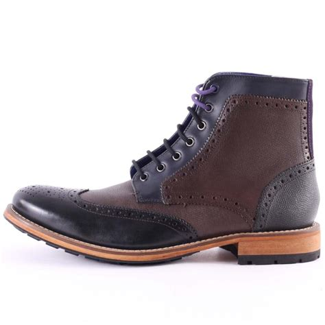 ted baker sealls 2 mens boots in multicolour