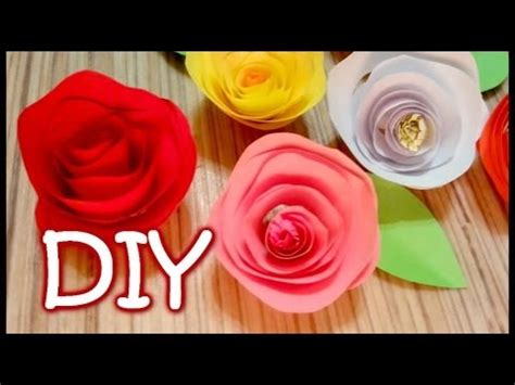 How To Make Roses Out Of Construction Paper - twisted paper how to make an easy out of paper