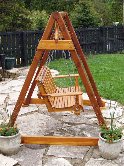 outdoor wooden swing best 25 outdoor swings ideas on pinterest outdoor swing