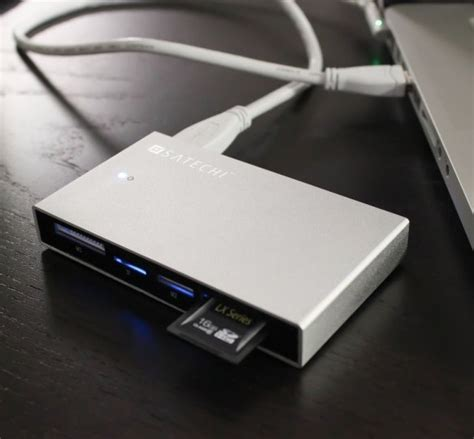 Hdd Reader satechi releases aluminum external disk enclosure and