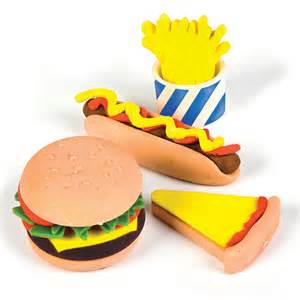 Fancy Bedroom Ideas fast food pencil erasers low cost novelty stationery