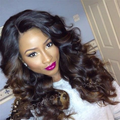 hairpiece stlye for matric 111 best images about weaves sew ins on pinterest