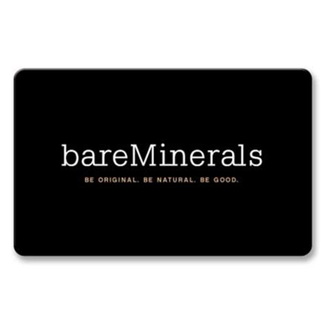 bare escentuals gift cards gift cards bareminerals - Bareminerals Gift Card