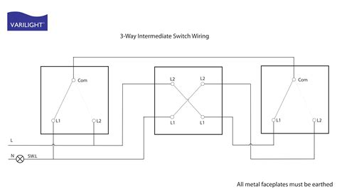 intermediate switch wiring diagram pdf circuit and