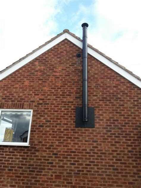 Chimney Height On Single Storey Extension - installing a wall flue chimney for a wood burning