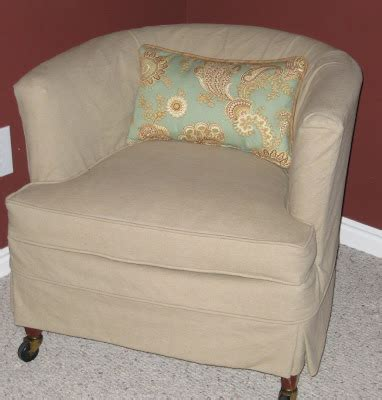 slipcovers for barrel chairs custom slipcovers by shelley before and after of barrel chair