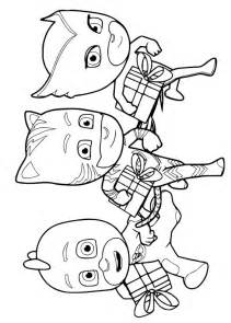 30 disegni dei pj masks super pigiamini da colorare pianetabambini