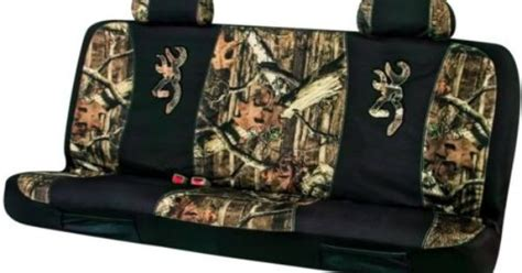 camo bench seat covers for chevy trucks browning mossy oak camo universal seat covers for full