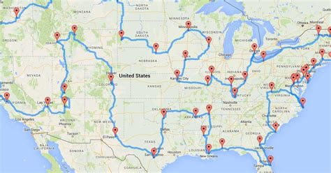 ultimate road trip usa scientists have figured out the ultimate united states