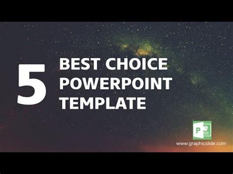 The Best Presentation Powerpoint 5 Best Choice Presentation Template Youtube Choice Template Powerpoint