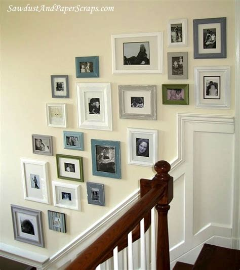 wall frame ideas cove design frame your blank wall collage of frames