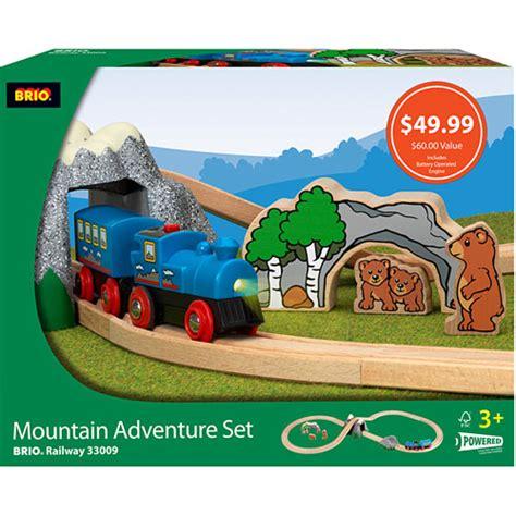 brio mountain adventure set brio figure 8 mountain adventure set toys et cetera