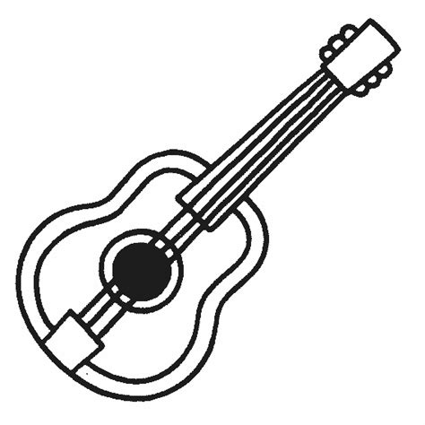 Coloring Page Instruments by Musical Instruments 6 Objects Printable Coloring Pages