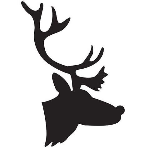 printable christmas silhouettes printable silhouette templates