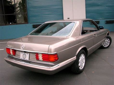 sell   mercedes benz  sec coupe