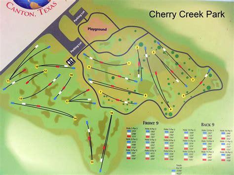 cherry creek park cherry creek park in canton tx disc golf course review
