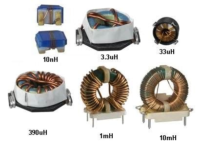 types of inductor coil inductor 1
