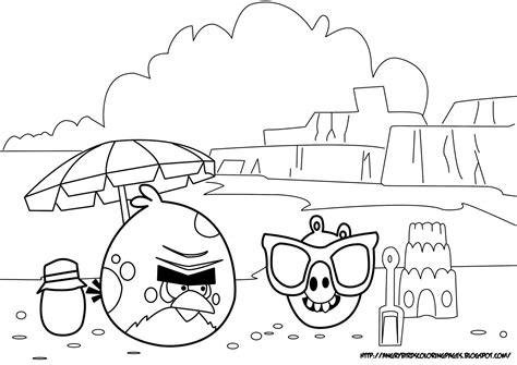 angry birds seasons coloring page angrybirdscoloringpages