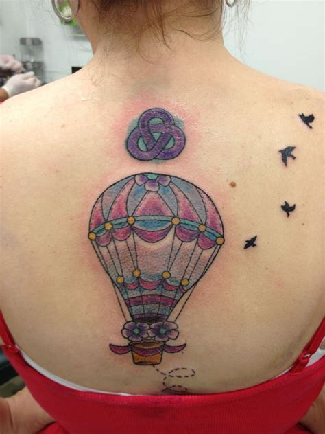 balloon tattoo air balloon tattoos