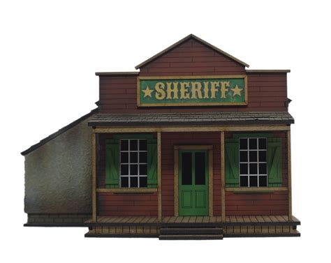 west wargame building sheriffs office from