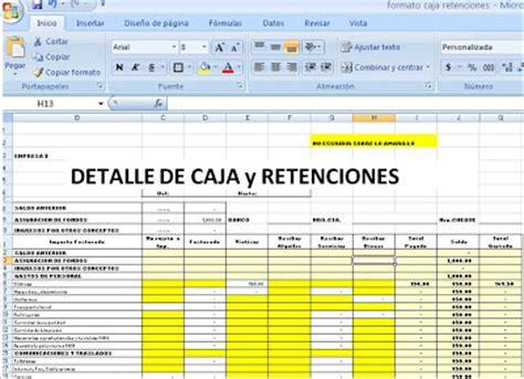 fecha de reintegro de retenciones formato caja con retenciones bolivia impuestos blog