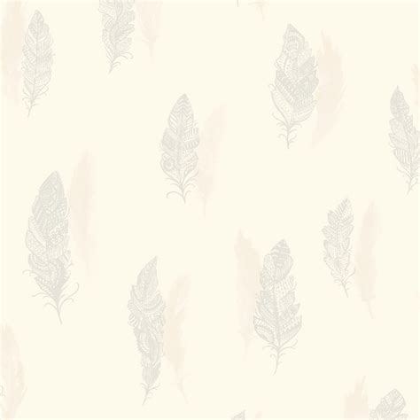 Holden Birds Of A Feather Wallpaper holden decor quill feather pattern nature bird leaf