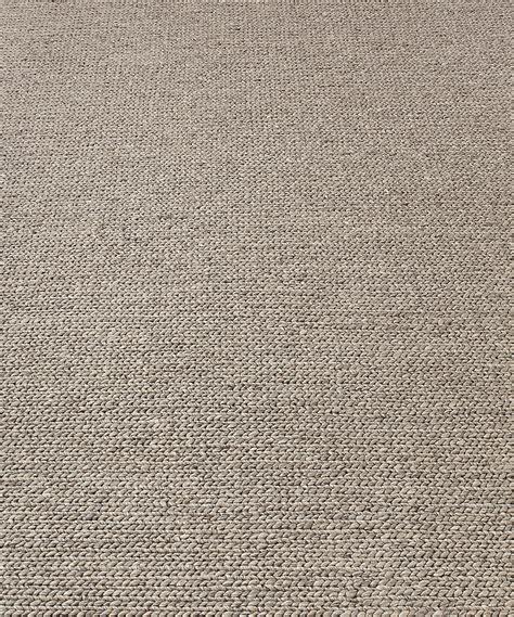 Grey Wool Rug by Textura Plaited Wool Rug Grey