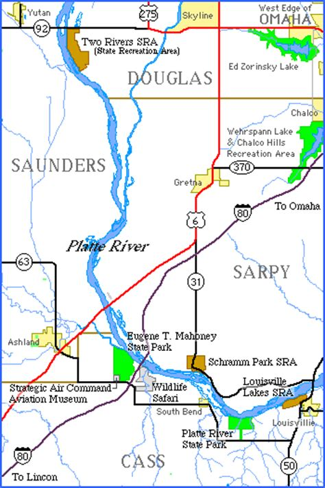 platte river map www pixshark attractions recreation map links platte river