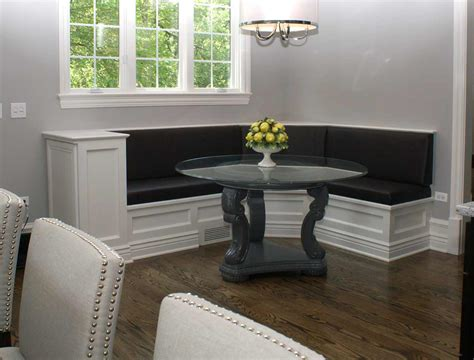 banquette seating cushions stylish and comfy dining room