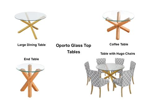 oporto dining table oporto glass top tables dining coffee end ebay