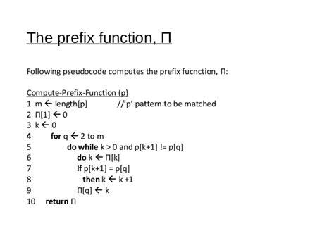 implement kmp pattern matching algorithm kmp pattern matching algorithm