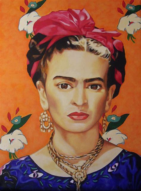 imagenes figurativas de frida kahlo laura hern 225 ndez art design personajes famosos