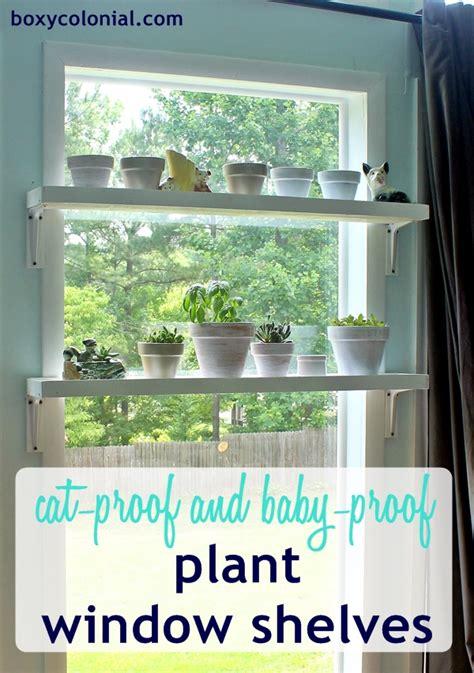 Plant Window Shelf by Diy Window Plant Shelves