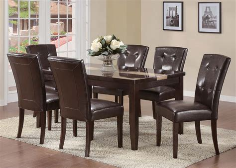 7 pc acme vienna dining set 7 pc acme isaac dining set