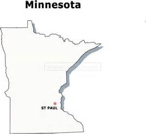 Minnesota Outline With Capital by Minnesota Flag1 Filetype Size Png With Transparent Background Apps Directories