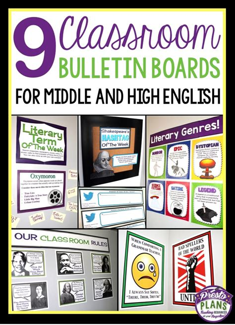 themes about english language arts bulletin board ideas high school 1000