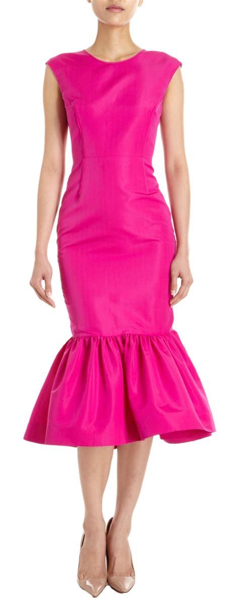Flare Dress Midi Pesta Dress Mermaid Dress Choker Offshoulder the world s catalog of ideas