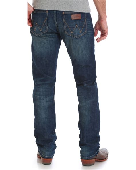 1921 jeans slim straight river wrangler retro men s green river slim fit jeans straight